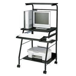 サンワサプライパソコンデスク幅600mmブラック