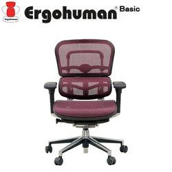 【エルゴヒューマンベーシック】オフィスチェアパソコンチェアリクライニングロータイプメッシュ肘付きデスクチェアワークチェア事務椅子腰痛対策ローバックエルゴイス椅子メッシュチェア【ErgohumanBasic】【ポイント10倍】