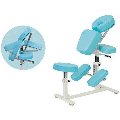 マッサージチェアー 椅子型施術台 ラウンドAタイプ/TB-523 メディカルチェアー 回復室 休憩室 診察用 イス 椅子 いす エステ 医療 病院 業務用 クイックマッサージ