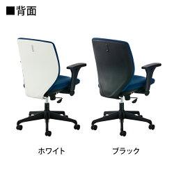 OAチェアシンクロロッキング背もたれフック付き事務椅子ルナーレレッド使用イメージ