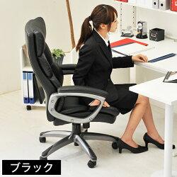 オフィスチェアパソコンチェアラクシアアイボリー使用イメージ