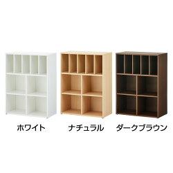 2列2段キャビネット木製仕切り板付き下置き専用積み重ね型アジャスター付き幅800×奥行400×高さ1067mmセルボ【ホワイト・ナチュラル】