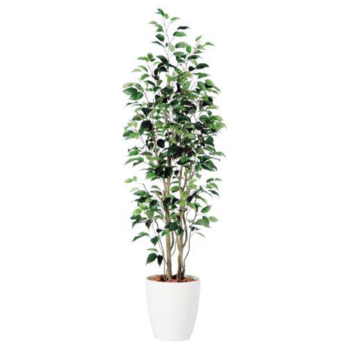 送料無料【ベンジャミン スリム FST RP鉢タイプ】 W50cm×H150cmフェイクグリーン 人工観葉植物 インテリアグリーン オフィスグリーン 人工樹木 造花ベンジャミナ:オフィスグリーン