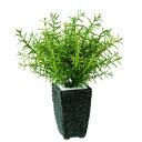 新商品【ローズマリー】W30cm×H35cmフェイクグリーン 人工観葉植物 インテリアグリーン オフィスグリーン 人工樹木 造花 脱臭 抗菌 抗ウイルス 事務