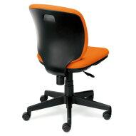 PLUS(プラス)オフィス家具Preseaブラックシェルタイプローバック肘なしW(幅)610D(奥行き)560H(高さ)