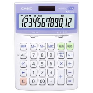 CASIO Calculator Watch 12 DW-122CL-N