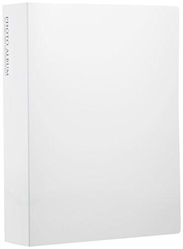 【605円×1セット】SEKISEI アルバム ポケット フォトアルバム 高透明 Lサイズ 240枚収容 L 201~300枚 ホワイト KP-240