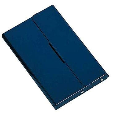 レイメイ藤井 カードケース よこ型スライド式 アルミ ブルー CH828A(5セット)