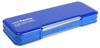 三菱鉛筆鉛筆 unipaletto 雙鉛筆盒藍色 P1000BT300