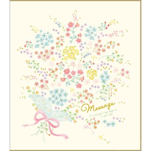 学研ステイフル『色紙 二つ折り 花束(D08011)』