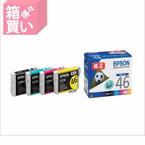 """【箱買い商品 / 一箱60セット】EPSON/インクカートリッジIC4CL46/"""" (納期優先の為単品詰合せの場合が御座います):オフィスジャパン"""