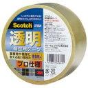 スリーエムジャパン 透明梱包用テープ 375SN