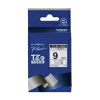 ピータッチ フレキシブルIDテープ 白ラベル TZe-FX221 [黒文字 9mm×8m]