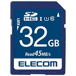 エレコム SDHCメモリカード 32GB MF-FS032GU11R