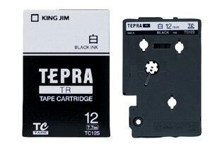 產品詳細資料,日本Yahoo代標 日本代購 日本批發-ibuy99 【1257円×120セット】KING JIM テプラテープ TC12S キングジム 4971660…
