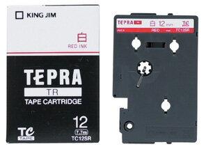 產品詳細資料,日本Yahoo代標 日本代購 日本批發-ibuy99 【1257円×120セット】テプラTR テープカートリッジ 白ラベル 12mm TC12SR キン…