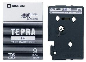 產品詳細資料,日本Yahoo代標 日本代購 日本批發-ibuy99 【1257円×120セット】テプラTRテープカートリッジ 透明ラベル 9mm 黒文字 透明(マット…