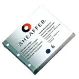 SHEAFFER シェーファー 消耗品 クラシックカートリッジインク ジェットブラック (ボックスタイプ) 96233