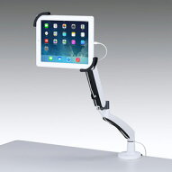 サンワサプライ7~11インチ対応水平垂直iPad・タブレット用アームCR−LATAB6