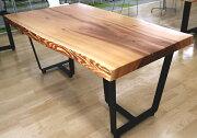 [店頭受取可]OFFICEPORTALオリジナル一枚板テーブル脚セットW1770米杉オフィス向け会議用テーブル会議テーブル