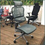 【展示処分品】ErgohumanProエルゴヒューマンプロハイタイプEHP-HAM高機能オフィスチェア高機能チェアランバーサポートメッシュパソコンチェアPCチェアデスクチェアワークチェア関家具オフィス家具イス椅子オフィスチェア