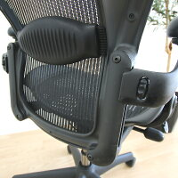 【中古】[数量限定]HermanMillerAeronChairsハーマンミラーアーロンチェアフル装備ランバーサポート固定肘高機能オフィスチェア高機能チェアメッシュパソコンチェアPCチェアデスクチェアワークチェアイス椅子オフィスチェア