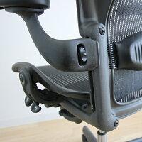 【】[数量限定]HermanMillerAeronChairsハーマンミラーアーロンチェアフル装備ランバーサポート固定肘高機能オフィスチェア高機能チェアメッシュパソコンチェアPCチェアデスクチェアワークチェアイス椅子オフィスチェア