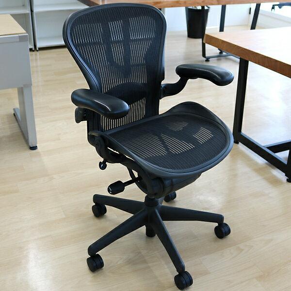期間限定中古 HermanMiller Aeron Chairs ハーマンミラー アーロンチェア Aタイプ ランバーサポート 可動肘 AE111AWA 高機能オフィスチェア 高機能チェア メッシュ パソコンチェア PCチェア デスクチェア ワークチェア イス 椅子 オフィスチェア:MATSUYA OFFICE PORTAL