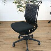 【中古】Visconteヴィスコンテハンガー付きOKAMURAオカムラパソコンチェアPCチェアメッシュチェアデスクチェアワークチェアイス椅子オフィスチェア