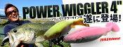 Berkley/バークレー  【Power Wiggler 4inch /パワーウィグラー4インチ) 】木村健太 キムケン(代引き不可商品)