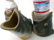 特価品! Rivers Edge/リバース エッジ 【ブラックバス ドリンクホルダー】Rivers Edge Wildlife Can Coolers ドリンクカップ