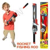 特価品!Goliath/ゴリアテ  【Rocket Fishing Rod / ロケット フィッシング ロッド】子供向け釣り具