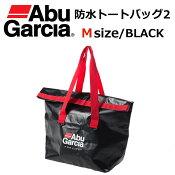 35%off!【数量限定】 Abu Garcia/アブ・ガルシア 【防水トートバッグ2 BLACK size M 】ターポリン