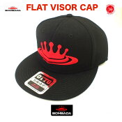BOMBADA AGUA/ボンバダ・アグア 【 FLAT VISOR CAP / フラットバイザーキャップ 】#Black otto