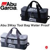15%off Abu Garcia / アブガルシア    【 Abu 3Way Tool Bag Water Proof  / アブ 防水3Wayツールバッグ 】バッカン ルアーケース 釣り具ケース ツールバッグ