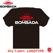 BOMBADA AGUA / ボンバダアグア  【 Dry T-shirt LOGOTYPE / ドライTシャツ ロゴタイプ 】#BLACK / #ブラック トビキチ