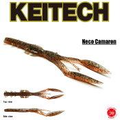 送料300円 12%off KEITECH / ケイテック  【 Neco Camaron 5.5inch / ネコカマロン 5.5インチ 】エビ エビ系 クローラー ネコリグ ワーム (代引き不可商品)