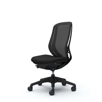 シルフィー[Sylphy]メッシュチェア[選べる全8色][ブラックボディ][ブラック脚][ハイバック][肘なし][4段階固定リクライニング/座スライド付]