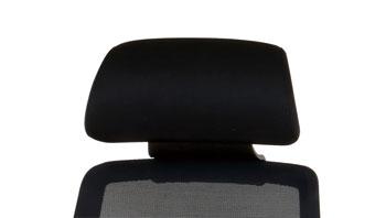 弘益 オフィスチェア CK01専用 ヘッドレスト CK01-HR[ブラック色][お客様取付]