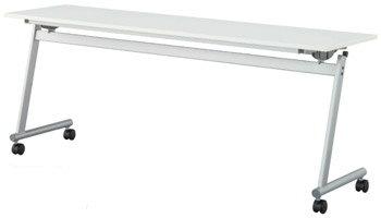 CFTR-S1545フォールディングテーブル【W1500×D450×H700mm】
