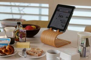 ザイトガイスト製 キチッン用iPadスタンド [Bamboo Kitchen iPad Stand]【山口県萩の竹製】