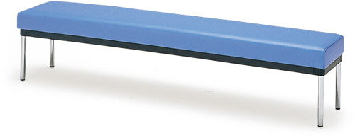ロッカールーム用チェアコンパクトベンチMC-3200/2人掛け用背なし