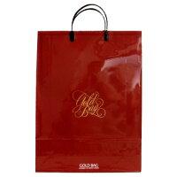 ゴールドバッグ手提袋 L NO.045 赤