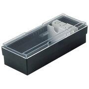 ネームカードボックス ブラック ボックス ファイル