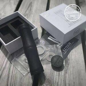 ブラックバージョン Ambition MODS アンビション モッズ LUXEM TUBE MOD black ラクゼム セミメカニカルチューブMOD 18650/18350 チップ搭載 ラグゼム [Y-18ブラック]