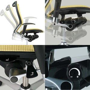 オカムラチェアBaron(バロン)グラデーションサポートメッシュエクストラハイバック固定ヘッドレストタイプポリッシュフレームデザインアーム座クッション