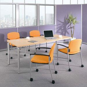 生興テーブルWK型会議用テーブルW1800×D900×H700WK1890MT-SV