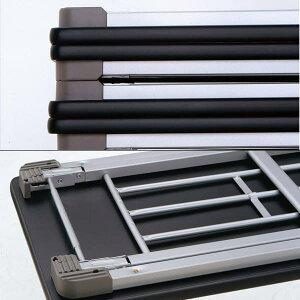 生興テーブル薄型折りたたみ会議テーブル棚なしW1800×D600×H700/脚間L1592TM-1860N