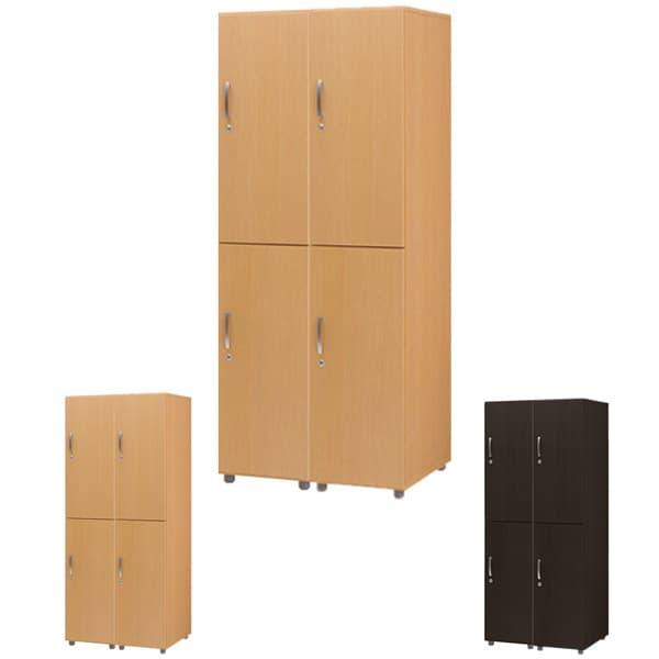 タック販売 ロッカー 高品質木製ロッカー 4人用 FJLW [ロッカー 本棚 収納家具 オフィス用品 オフィス用 オフィス家具 オフィス収納 会社 企業向け 施設用 木製 ハイテクウッド]