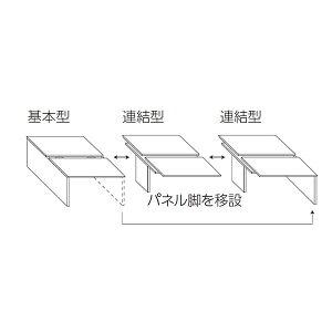 ライオン事務器フリーアドレスタイプデスク基本型シェイブW1600×D1400×H720mmSHA-1614K